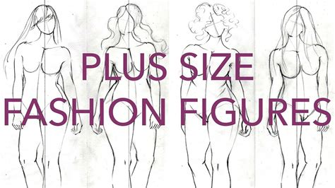 Figure How To Your how to draw plus size fashion figures