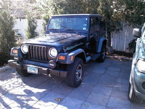 how to work on cars 1998 jeep wrangler on board diagnostic system find used 1998 jeep wrangler sport sport utility 2 door 4 0l in stamford connecticut united