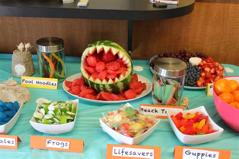 party themes with food beach party food ideas birthday party themes inspiration