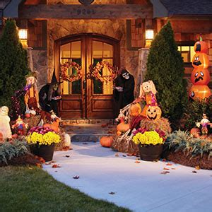 home depot lawn decorations halloween decorations garden club