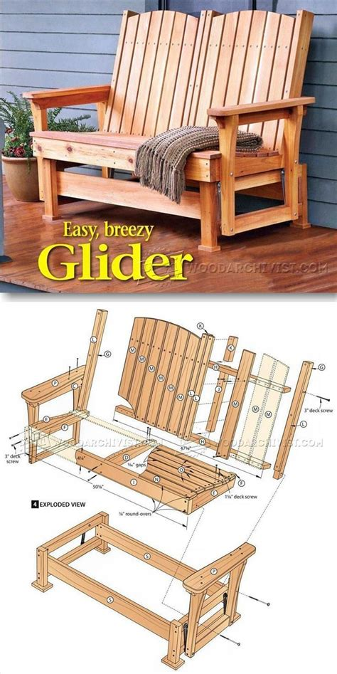 Furniture Building Plans by 25 Best Outdoor Furniture Plans Ideas On