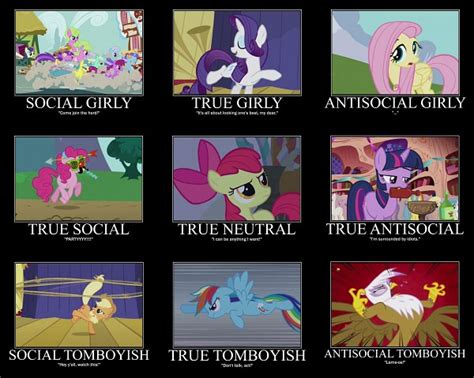 Alignment Meme Generator - dungeons and ponies my little pony friendship is magic