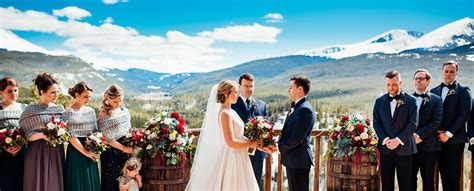 weddings  lodge  breckenridge