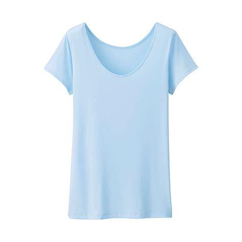 Tank Top Wanita Batik Merk Maurice uniqlo wanita airism t shirt scoop neck lengan pendek