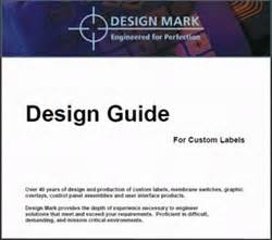 Label Design Guide   custom label design guide now available from design mark