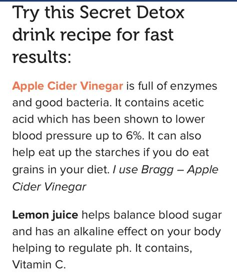 Detox Fasting C by Secret Detox Drink With Fast Results Trusper