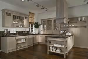 cuisine cottage grise sur mesure meubles de cuisines