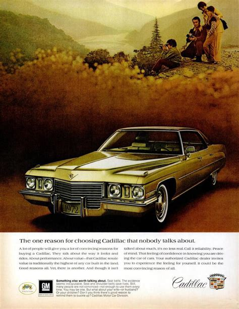 cadillac television ads personalities who is in cadillac ad cadillac releases four page ads in