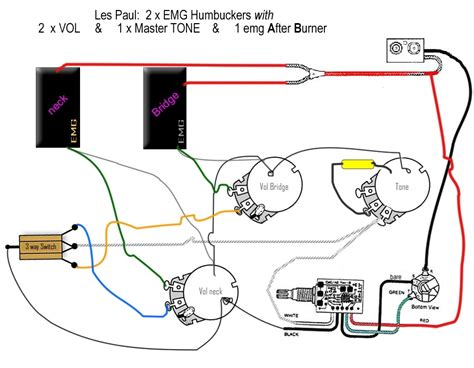emg humbucker wiring diagrams wiring diagrams schematics