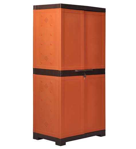nilkamal kitchen furniture nilkamal freedom shoe cabinet weather brown and rust by nilkamal moulded plastic