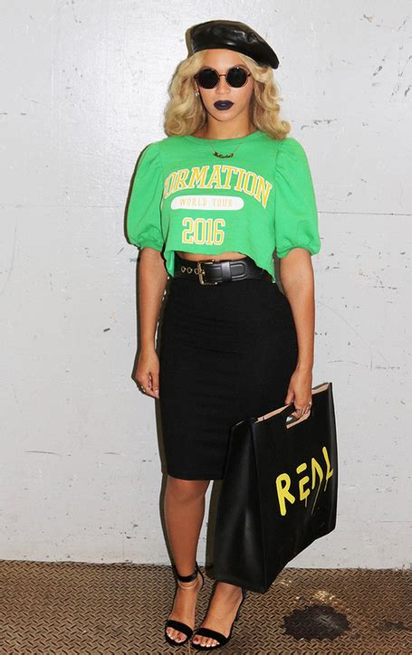 2821 Green Army Shirt 50 best beyonce in 2017 beyonce style