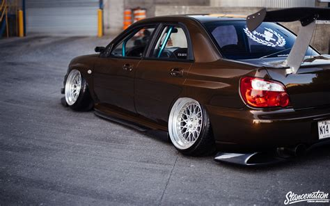 slammed subaru wrx first time s the charm louis phillipe s sti