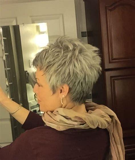 love the gray short hair love the gray gorgeous gray hair