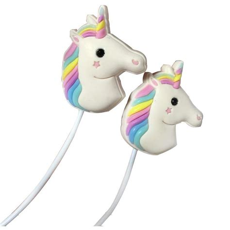 Wk Colorful Fashionable Earphone With Microphone Wi200 unicorn earphones with microphone emazing fashion