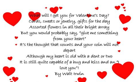 happy valentines day to my poems image valentines day poem valentine s day