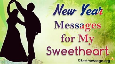 romantic happy new year messages for my sweetheart lovely