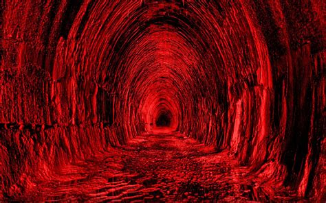 red tunnel hd wallpaper hd latest wallpapers