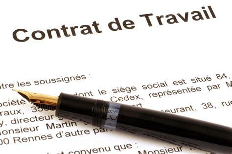 Modification Contrat De Travail Réorganisation by Les Droits Et Obligations Du Salari 233 Onisep