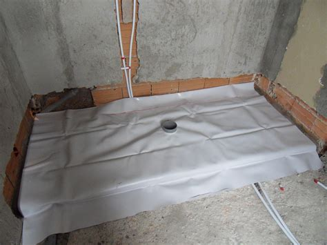impermeabilizzazione pavimenti doccia pavimento impermeabilizzazione piatto doccia in