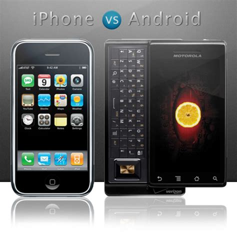 android vs iphone review android vs iphone comparing apples and oranges the floating frog