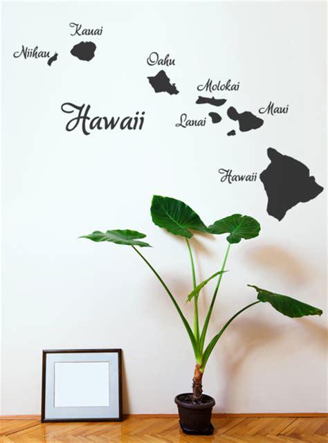 Hawaii Motive by Wandspruch De Hawaii Wandtattoo