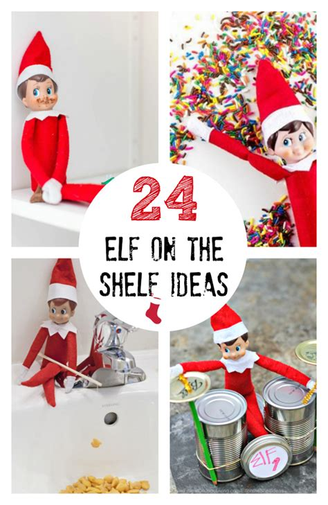 ideas elf on the shelf 24 creative elf on the shelf ideas make and takes