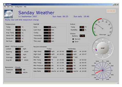 weather station home automation automated home