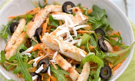 insalata pollo sedano insalata di pollo con carote sedano e olive bauer