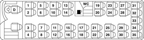 coach seating seating plan chauffeurhire coaches