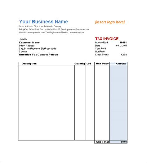 service receipt template word service invoice templates 11 free word excel pdf