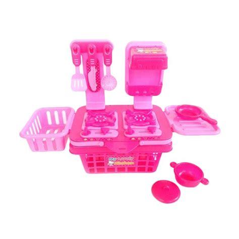 jual toys empire my lovely kitchen alat masak dapur set