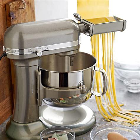 Pasta With Kitchenaid Mixer by Kitchenaid 174 Stand Mixer Pasta Roller Attachment Williams