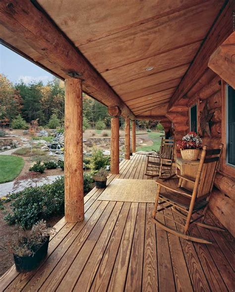 Cabin Porch by A Log Cabin In North Carolina Perfect For Outdoor Log