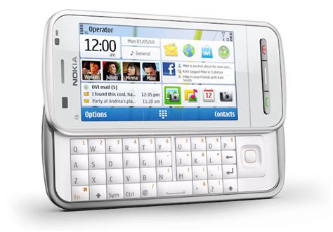 Hp Nokia C6 Slide nokia c6 mid tier touchscreen with slide out qwerty