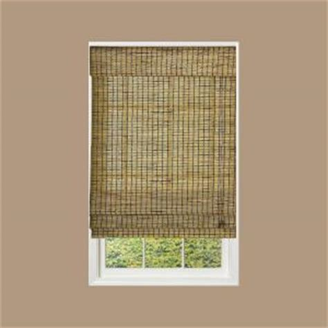 radiance burnt bamboo shade 58 in w x 64 in l