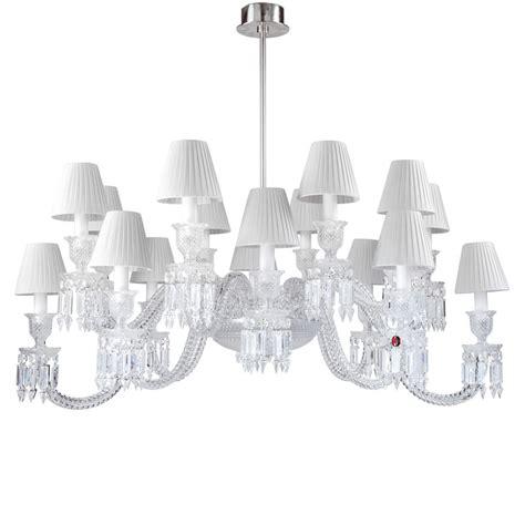 baccarat lustre ellipse chandelier baccarat vessiere cristaux