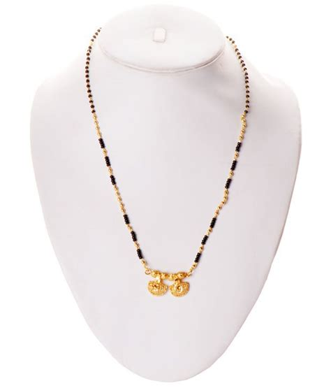black bead chains in gold zakasdeals black gold chain mangalsutra buy