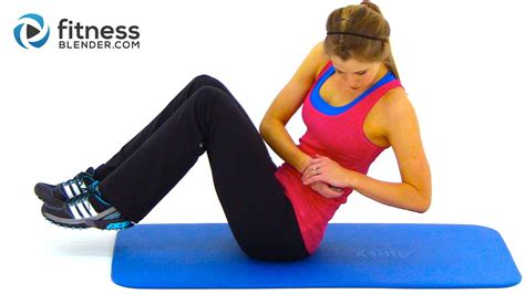 hiit workout for abs obliques high intensity cardio and abs workout fitness blender
