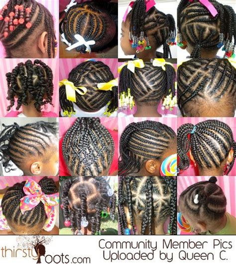 hairstyles without braids black little girls hair styles style girls and for kids