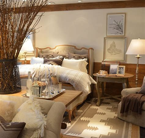 lodge bedroom decor ralph lauren s alpine lodge collection