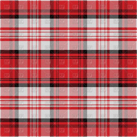 scottish plaid seamless red scottish tartan pattern vector image 67471