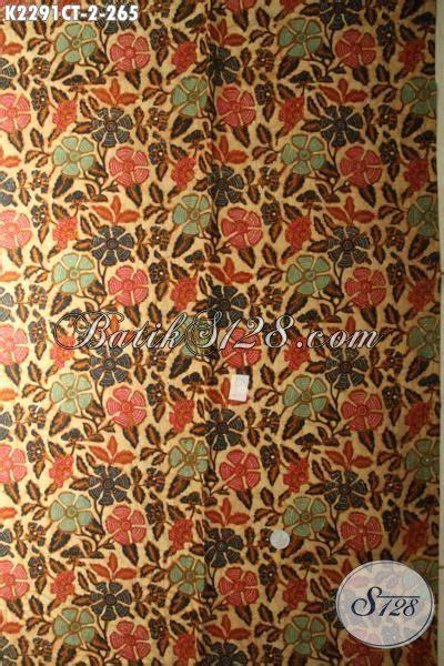 Kain Batik Cap Motif Bunga kain batik cap tulis motif bunga desain keren dan modern