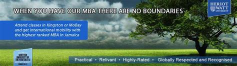 Heriot Watt Mba Accreditation by B B College