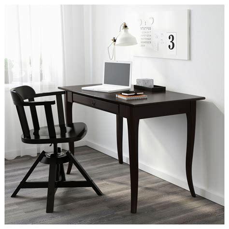 Black Computer Desk Ikea Leksvik Desk Black 119x60 Cm Ikea