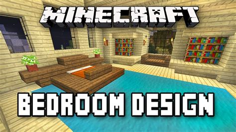 how to make an awesome bedroom in minecraft minecraft tutorial how to build a house part 9 master