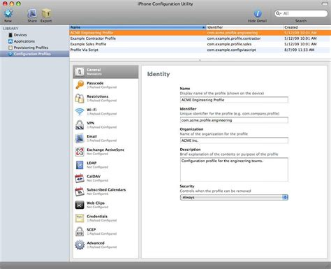 file format for video on mac iphone configuration utility for mac os x file extensions