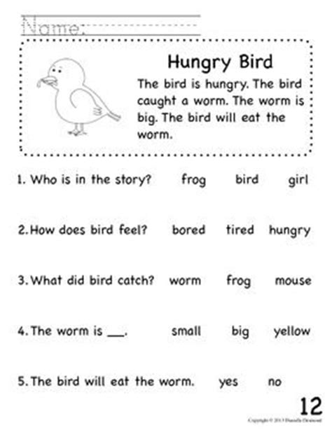 Beginning Reading Worksheets by The World S Catalog Of Ideas