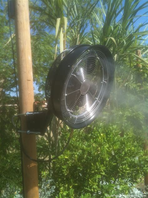 misting fans modern misting systems for palm springs and