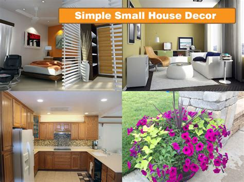 Simple Home Decor For Small House | simple interior design brings natural decoration ideas for
