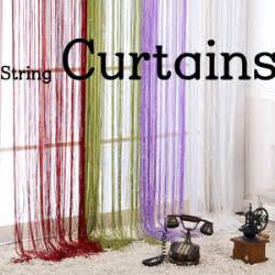 string curtains canada qoo10 string curtain diy beads blind roll screen tie bag